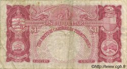 1 Dollar CARAÏBES  1953 P.07a TB