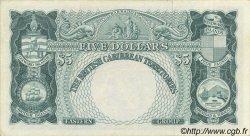 5 Dollars CARAÏBES  1957 P.09b SUP+