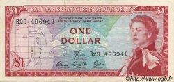1 Dollar CARAÏBES  1965 P.13d SUP