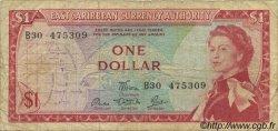 1 Dollar CARAÏBES  1965 P.13d TB