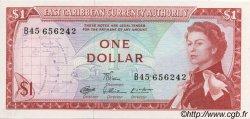 1 Dollar CARAÏBES  1965 P.13d NEUF