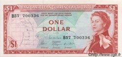 1 Dollar CARAÏBES  1965 P.13e SPL