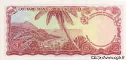 1 Dollar CARAÏBES  1965 P.13e NEUF