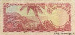 1 Dollar CARAÏBES  1965 P.13f TB