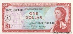 1 Dollar CARAÏBES  1965 P.13h NEUF
