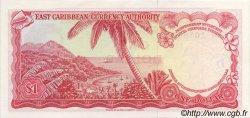 1 Dollar CARAÏBES  1965 P.13i NEUF