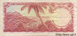 1 Dollar CARAÏBES  1965 P.13j TTB