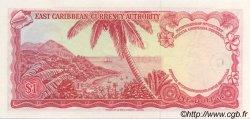 1 Dollar CARAÏBES  1965 P.13j NEUF
