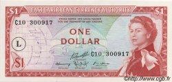 1 Dollar CARAÏBES  1965 P.13l NEUF