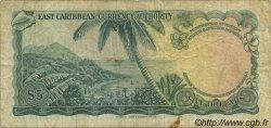 5 Dollars CARAÏBES  1965 P.14a TB