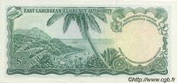 5 Dollars CARAÏBES  1965 P.14h NEUF