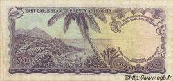 20 Dollars CARAÏBES  1965 P.15d TTB