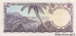20 Dollars CARAÏBES  1965 P.15e pr.NEUF