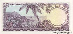 20 Dollars CARAÏBES  1965 P.15l NEUF