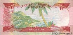 1 Dollar CARAÏBES  1985 P.17a SUP