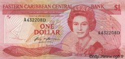 1 Dollar CARAÏBES  1985 P.17d NEUF