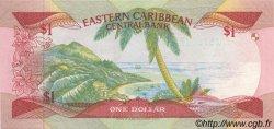 1 Dollar CARAÏBES  1985 P.17k NEUF
