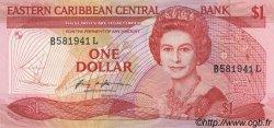 1 Dollar CARAÏBES  1985 P.17l NEUF