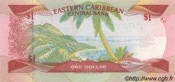 1 Dollar CARAÏBES  1989 P.21d pr.NEUF