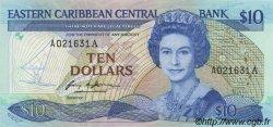 10 Dollars CARAÏBES  1985 P.23a1 NEUF