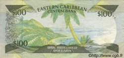 100 Dollars CARAÏBES  1988 P.25a1 TTB