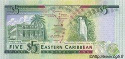 5 Dollars CARAÏBES  1993 P.26a NEUF