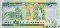 5 Dollars CARAÏBES  1993 P.26d NEUF