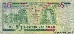 5 Dollars CARAÏBES  1994 P.31l TB