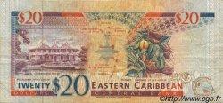 20 Dollars CARAÏBES  1994 P.33l TTB
