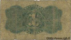 1 Peso CHILI  1898 P.015a AB