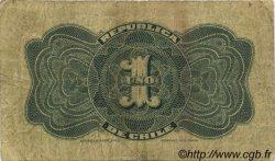 1 Peso CHILI  1919 P.015b TB