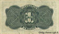 1 Peso CHILI  1919 P.015b SUP