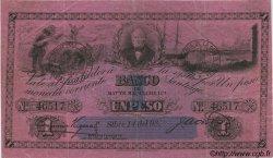 1 Peso CHILI  1898 P.041 TTB