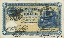 2 Pesos CHILI  1925 P.059b SUP