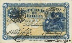 2 Pesos CHILI  1925 P.059b SUP