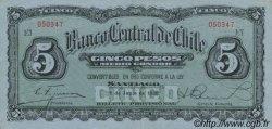 5 Pesos - 1/2 Condor CHILI  1930 P.082 SUP+