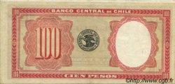 100 Pesos - 10 Condores CHILI  1933 P.095 SUP+