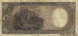 500 Pesos - 50 Condores CHILI  1942 P.098 TB