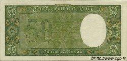 50 Pesos - 5 Condores CHILI  1947 P.104 SUP