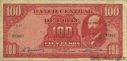 100 Pesos - 10 Condores CHILI  1946 P.105 TB