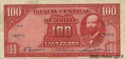 100 Pesos - 10 Condores CHILI  1946 P.105 TTB+