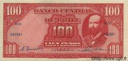 100 Pesos - 10 Condores CHILI  1946 P.105 SUP+
