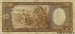 1000 Pesos - 100 Condores CHILI  1947 P.107 TB