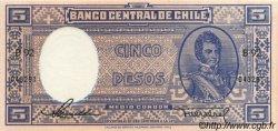5 Pesos - 1/2 Condor CHILI  1947 P.110 pr.NEUF