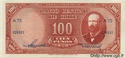100 Pesos - 10 Condores CHILI  1947 P.113 pr.NEUF