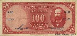 100 Pesos - 10 Condores CHILI  1947 P.114 TB