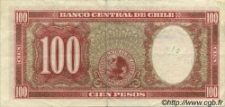 100 Pesos - 10 Condores CHILI  1947 P.114 TTB