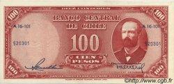 100 Pesos - 10 Condores CHILI  1947 P.114 SPL+