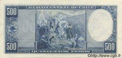 500 Pesos - 50 Condores CHILI  1947 P.115 SUP