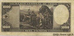 1000 Pesos - 100 Condores CHILI  1947 P.116 TTB